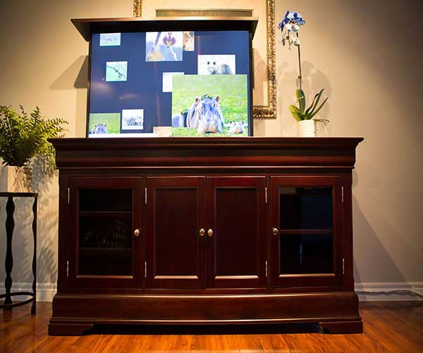 The Tuscany TV Lift Cabinet