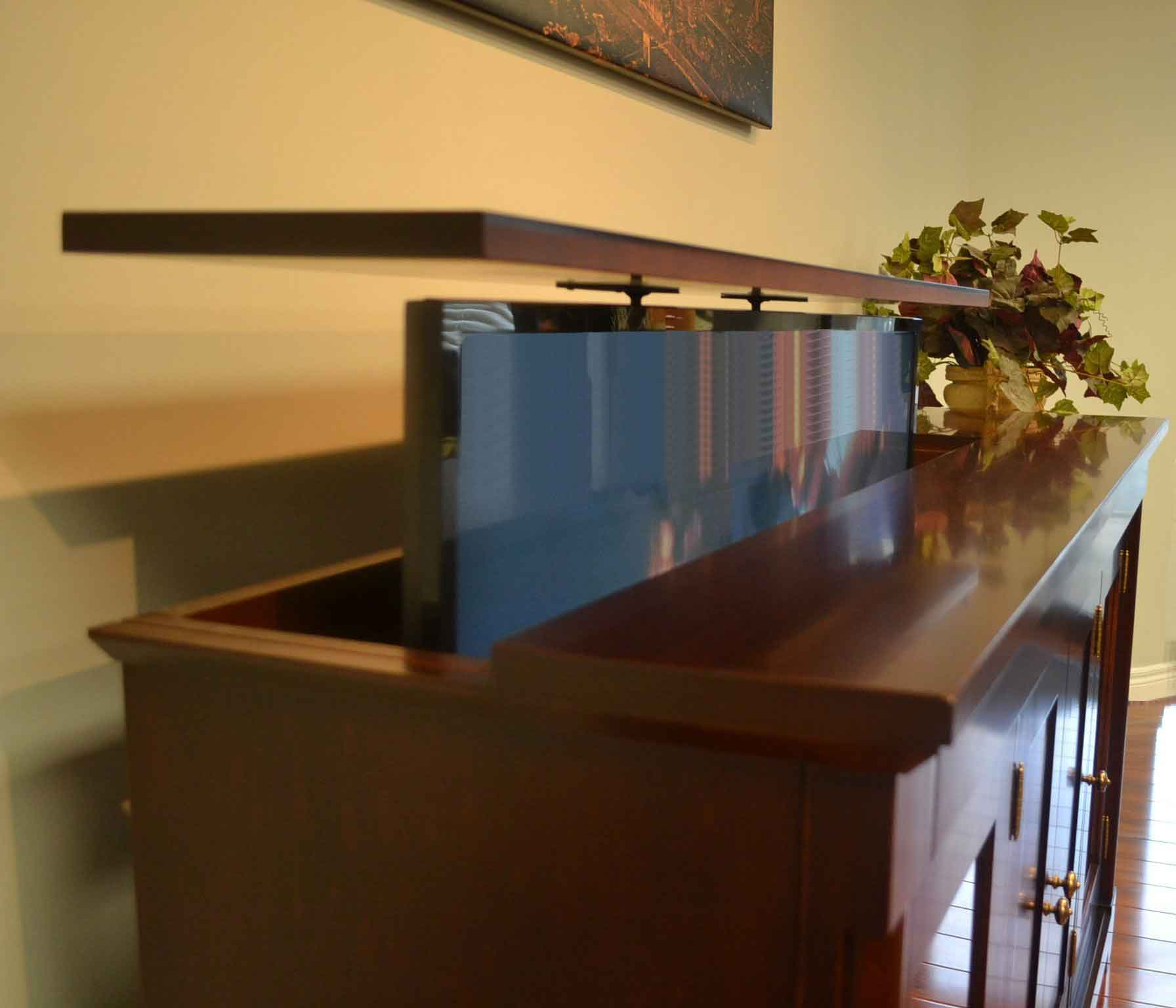 TV Lift Cabinet Lid